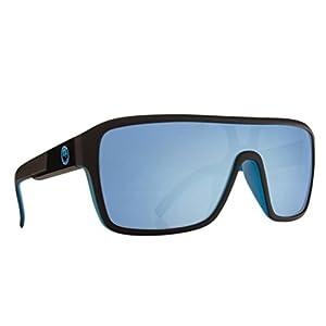 Dragon Alliance The Jam Remix Large Fit Sunglasses, Matte Black/Sky Blue,One Size