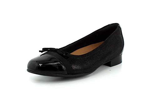 patent Un Combination Blush Black Nubuck Leather Clarks26136917 Berretto Donna BSHYdwwq