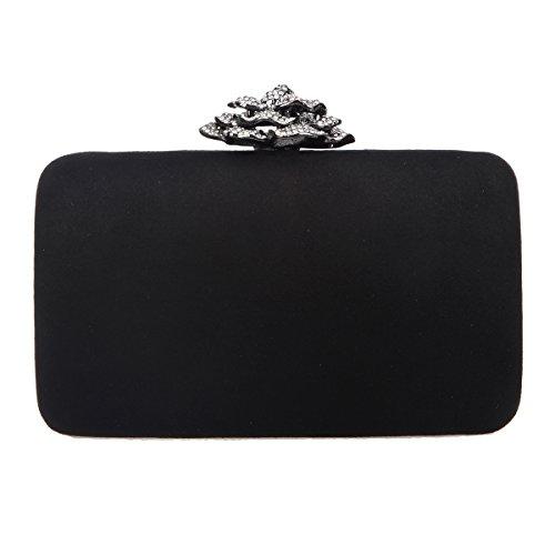 Noir Uk18109 Pochette S Pour Femme Bonjanvye qfXpwAOTp