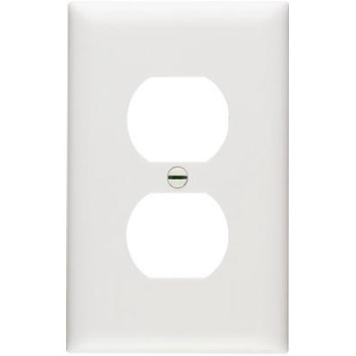 Legrand - Pass & Seymour TP8WCP TradeMaster One-Gang One-Duplex Outlet Wall Plate, 10-Pack, White