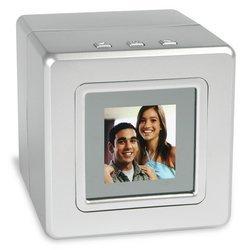 Vu-Me Digital Photo Cube - Silver