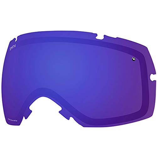 Smith Optics IOX/IOX Turbo Adult Replacement Lens Snow Goggles Accessories - Chromapop Everyday Violet Mirror/One Size