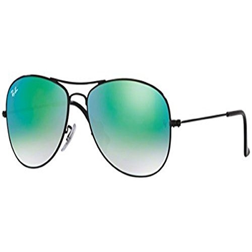 Black green Sunglasses Shiny Cockpit Gradient Ban Rb3362 Ray Flash wqYHX6T