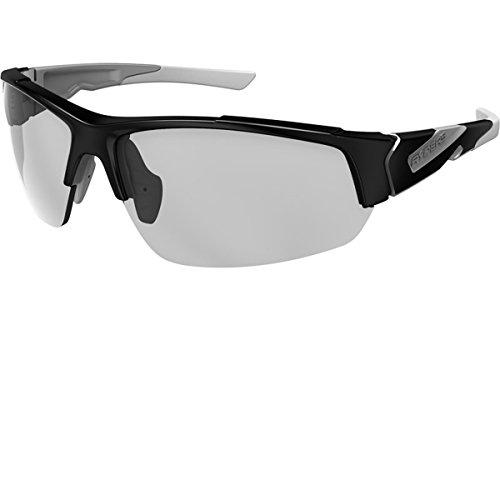 Ryders Eyewear Strider Polarized Sunglasses - R02108 (PHOTO BLACK-GREY / LT GREY LENS ()