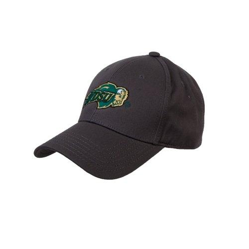 - CollegeFanGear North Dakota State Charcoal Heavyweight Twill Pro Style Hat 'NDSU Bison'