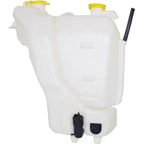 Coolant Reservoir compatible with Dodge Full Size P/U 06-09 Windshield Washer Tank W/Motor And Sensor Plastic Dual reservoir -  Evan-Fischer, EVA118051315416