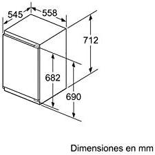 Balay 3GI1047S Integrado Vertical 72L A++ Blanco - Congelador ...