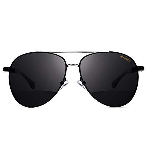 sol de gafas de marco de de polarizadas hombres Gafas sol NIFG gran los 1pqRwaSn0W