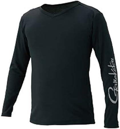 또한 고 (Gamakatsu) NO FLY ZONE 롱 슬리브 T 셔츠 블랙 3L GM3552 블랙 3L / Gamakatsu NO FLY ZONE Long Sleeve T-Shirt Black 3L GM3552 Black 3L