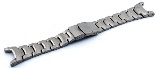 Casio #10262768 Genuine Factory Replacement Titanium Band Pathfinder Model: PAW1300T by Casio