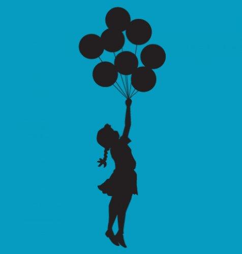 Banksy Tshirts PP - Palästinisches Ballonmädchen Banksy Kinder T-Shirt 7 Jahr Saphir