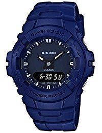 Casio G-shock Analog Digital Blue Mens Watch With Date and 200 Meter Water Resistant G100CU-2A (G Shocks X Large)