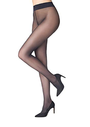 Marilyn Naked Luxe Silky Tights 40 Denier - Hosiery Black Denier
