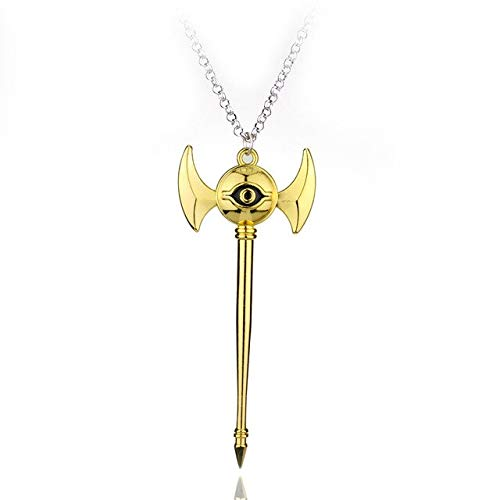 Necklace for women - Fashion Game Anime Yugioh Millenium Duel Monsters Pendant 3d Yu Gi Oh Chain Necklace Women and Men - 1679