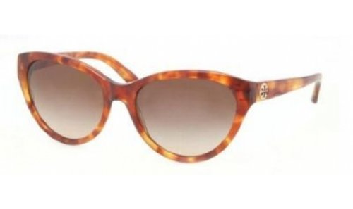 Tory Burch Womens TY7045 Brown/Brown Sunglasses - Burch Sunglasses Tory Havana