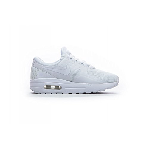 Nike Kids Air Max Zero Essential PS White 881226-100 (Size: 1Y) by Nike (Image #1)