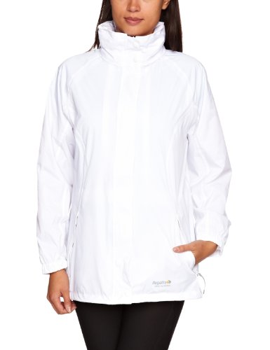Regatta Joelle III Women's Leisurewear Waterproof Jacket - White ...
