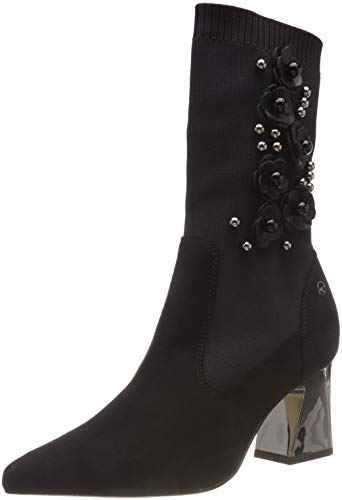 Boots Black Tamaris 1 black 21 Ankle Women's 25362 wqqTg7I1