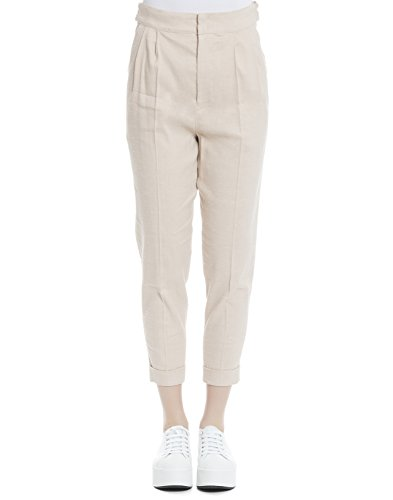 isabel-marant-womens-pa068017p010i40lk-pink-cotton-pants