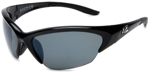 Kaenon Men's Kore Polarized Shield Sunglasses, Black G12, 39 - Kaenon Sunglasses Kore
