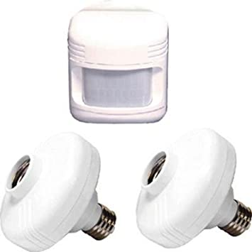 180-Degree Outdoor White Sensor with Motion Adapters