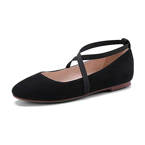 BalaMasa Womens Solid Travel Structured Urethane Pumps Shoes APL11071 Black
