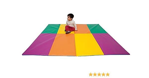Sumo Didactic- Colchoneta, Color Verde, Amarillo, Naranja, Fucsia (095Z): Amazon.es: Juguetes y juegos