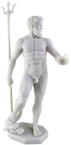 Amazon Com Poseidon Greek God Of The Sea Statue Sculpture Nautical Figurine Home Kitchen