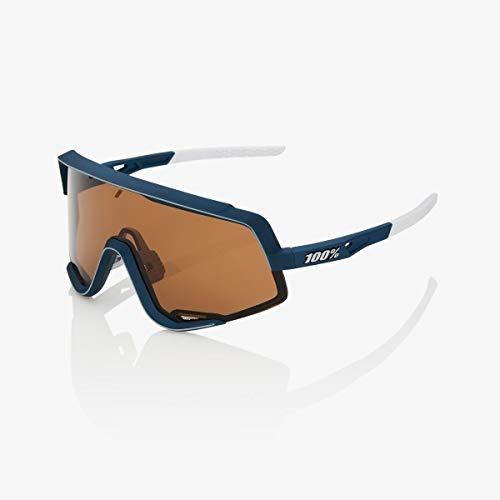 100% Glendale Sunglasses Soft Tact Raw-Bronze Lens, One Size - ()