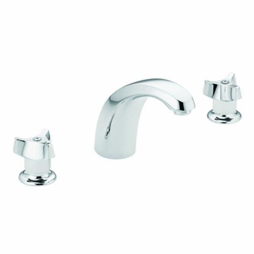 Knob Widespread Lavatory Faucet - 9