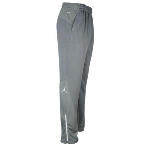 Nike Jordan Men's Pant Jumpman Basketball Pant (XXXX-Large Tall, Cool Grey/Tm White/Tm White)