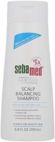 Sebamed Scalp Balancing Shampoo - Anti-Dandruff for Oily Hair & Flaky Scalp (200mL)