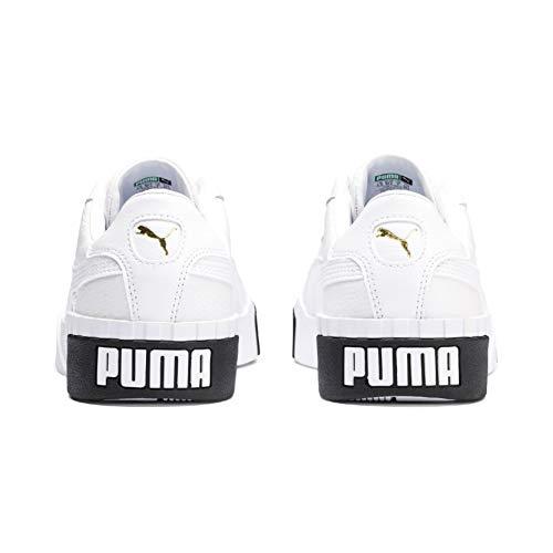 Amazon.com   Puma Womens Cali WNs Low-Top Sneakers, White Black 04, 8.5 UK   Fashion Sneakers