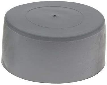 Cover Caps End Cap Finishing Cap Pack of 5 125mm Grey Post Caps Pole Caps LDPE Post Cap