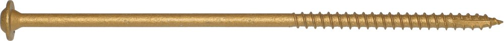 Screw Products, Inc. CCTX-38800100 3/8 Bronze Star Exterior Construction Lag Screws by Screw Products, Inc.