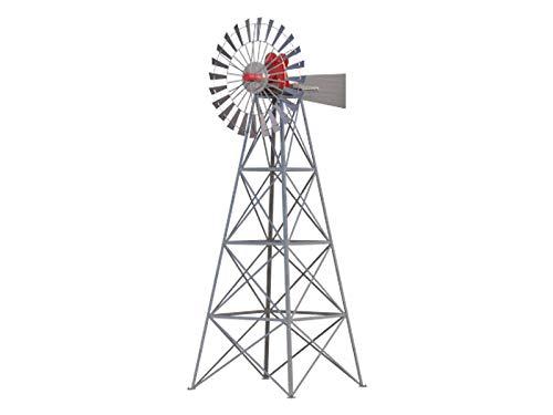 Windmill Plans DIY Water Aerator Alternative Energy Wind Power Generator Antenna ()