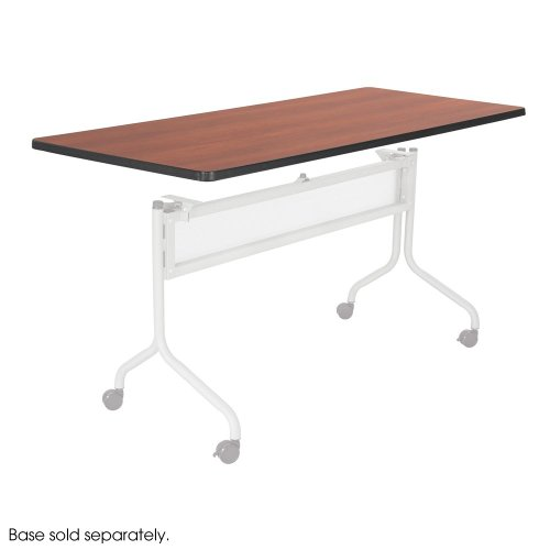 Safco Office Meeting Seminar Impromptu Mobile Training Table, Rectangle Top - 72 x 24'' Cherry by Safco