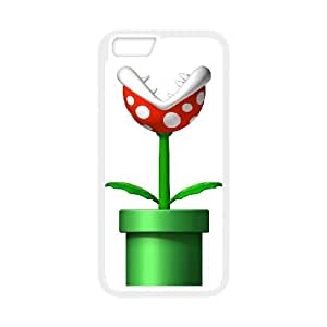 Super Mario iPhone 6 4.7 Inch Cell Phone Case White xlb-036458