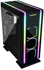 Enermax Saberay ADV Torre Negro Torre, PC, SPCC, Negro, ATX,Micro ATX,Mini-ITX, Rojo//Verde//Azul Caja de Ordenador