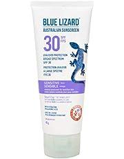 BLUE LIZARD Sensitive Spf 50+ Lotion Tube