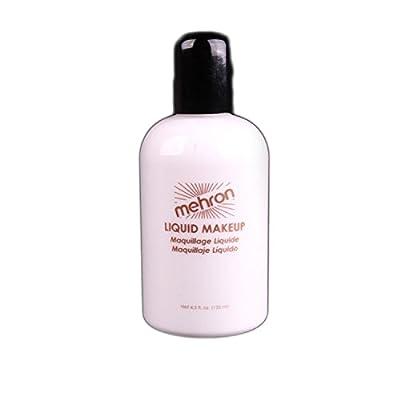 Mehron Makeup Liquid Face & Body Paint, WHITE - 4.5oz