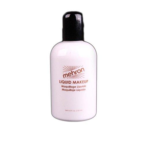 [Mehron Makeup Liquid Face & Body Paint, WHITE - 4.5oz] (White Dress Up Ideas)