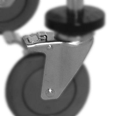 MOBILE KIT-2 SWIVEL-2 W/BRAKES