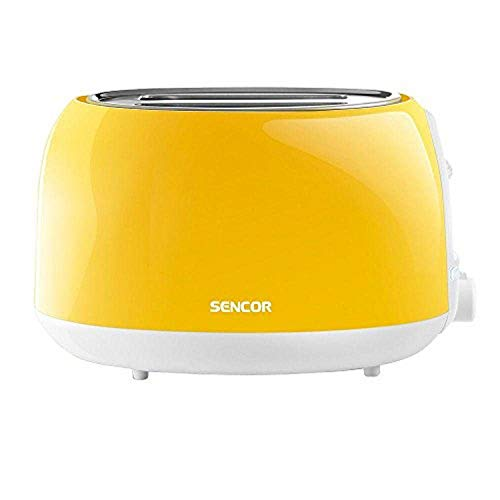 Sencor STS2706YL 2-slot High Lift Toaster with Safe Cool Touch Technology, Yellow
