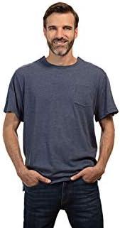 MAI Post Shoulder Surgery Shirts | Chemo Clothing | Men Short Sleeve Shirt