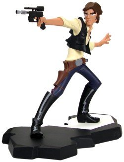 Gentle Giant Maquettes - Star Wars: Animated Han Solo Maquette
