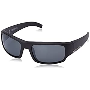 Kaenon Men's Arlo Polarized Rectangular Sunglasses, Black Label, 58 mm
