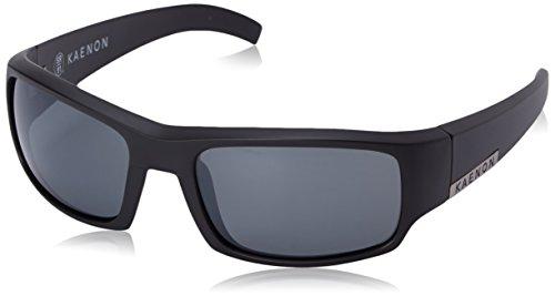 Kaenon Men's Arlo Polarized Rectangular Sunglasses, Black Label, 58 - Kaenon Sunglasses