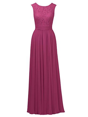 Chiffon Silk Prom Dress - 8