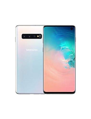 Samsung Galaxy S10 512 Dual-SIM Android Smartphone White  UK Version   Renewed